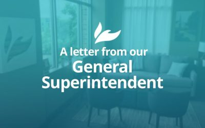 A Letter From Our General Superintendent